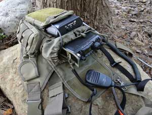 Yaesu 817ND and portable pack